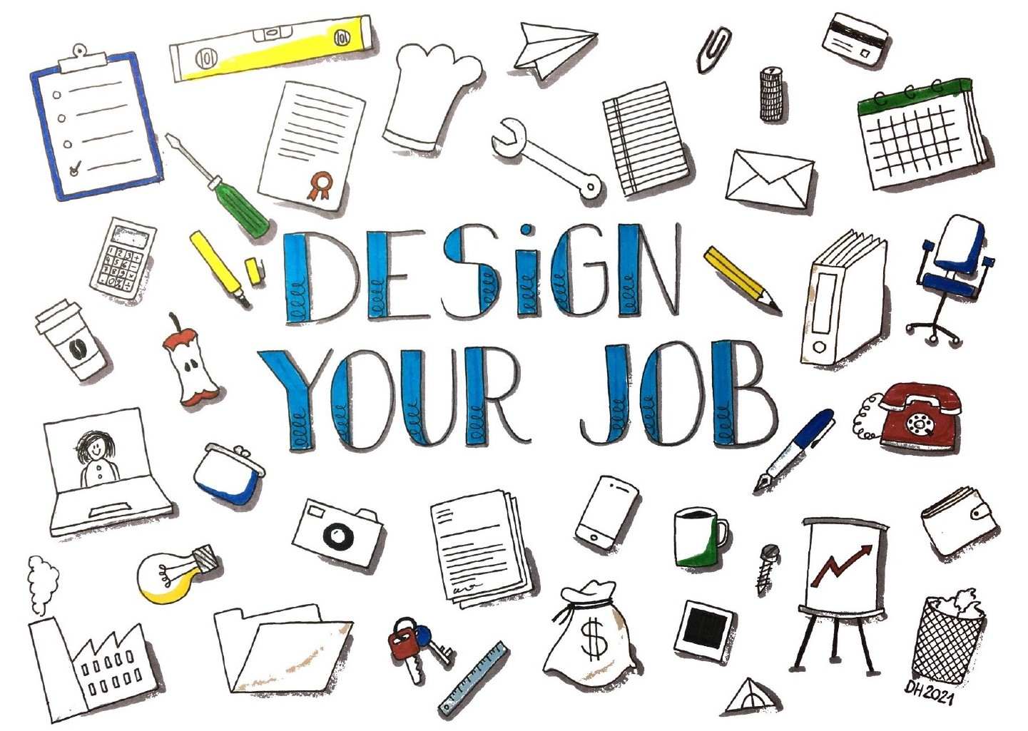 Kursangebot Design your job